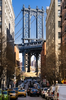 Dumbo point aus brooklyn new york city