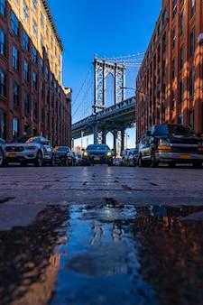 Dumbo-punkt new york brooklyn usa