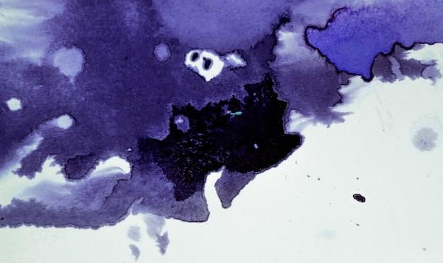 Dunkel verteilt tintenflecken