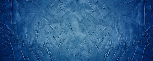Dunkelblauer grunge-textur-zement- oder betonwandhintergrund