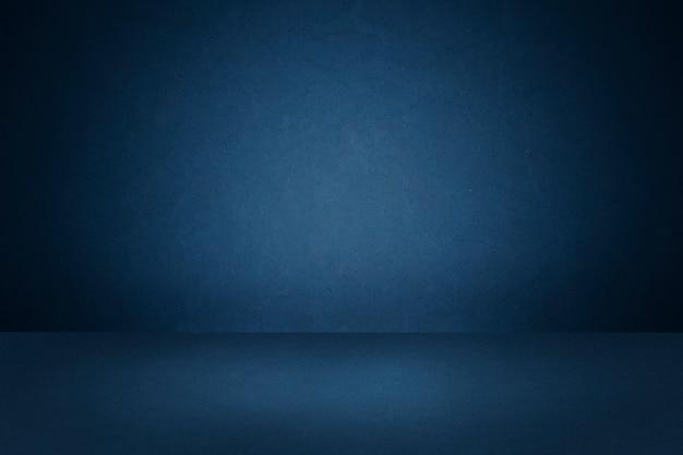 Dunkelblauer produkthintergrund