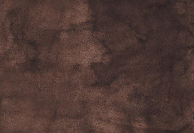 Dunkelbrauner aquarellhintergrund