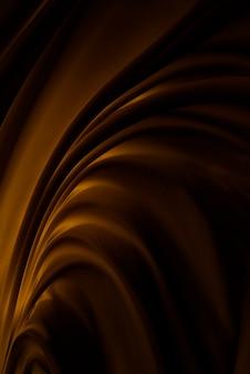 Dunkelbrauner stoffbewegungsbeschaffenheitshintergrund