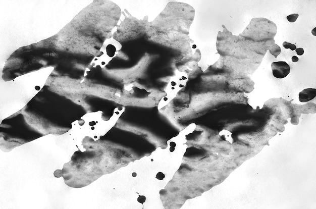 Dunkelgrauer aquarellhintergrund für tapete. aquarell farbe abbildung