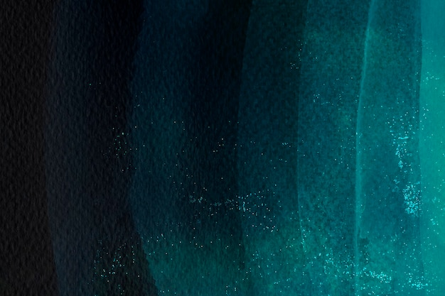 Dunkelgrüner aquarellpinselstrich