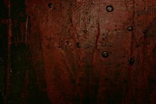 Dunkelrote leinwand, rot