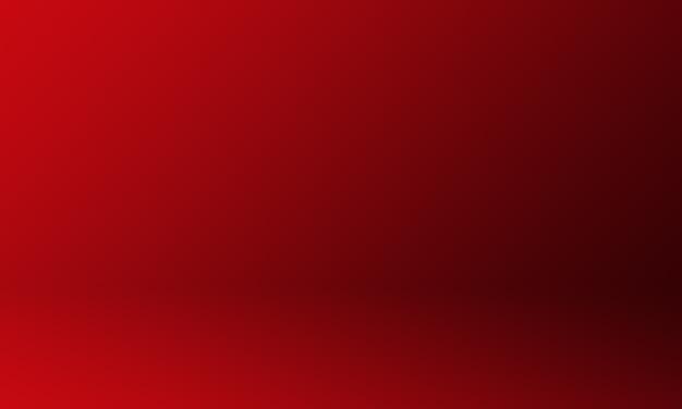 Dunkelroter farbverlauf des studiohintergrunds