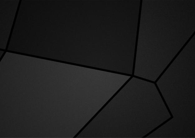 Dunkle töne der abstrakten illustration der polygone