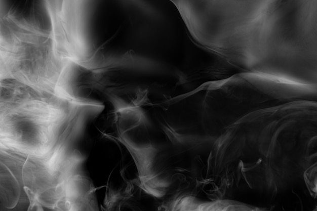 Dunkler abstrakter tapetenhintergrund, rauchbeschaffenheit