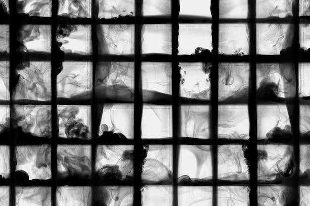Dunkler abstrakter tapetenhintergrund, rauchdesign
