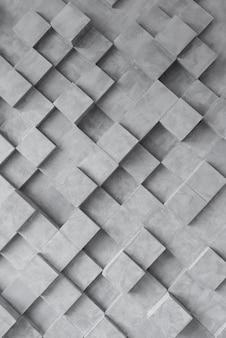 Dunkler geometrischer hintergrund mit quadraten