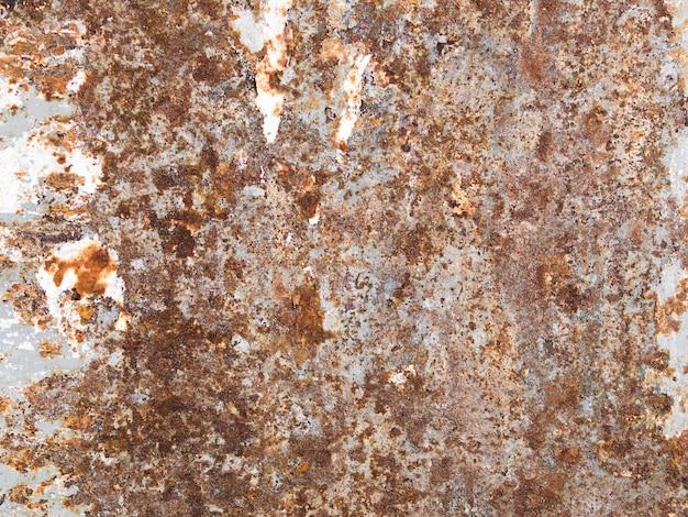 Dunkler getragener rostiger metallbeschaffenheitshintergrund