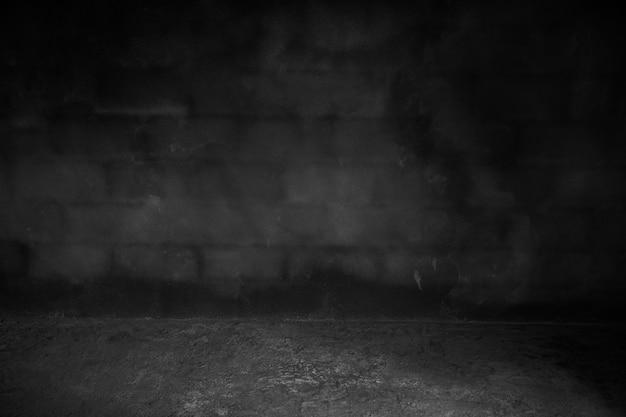 Dunkler hintergrund, schwarze zementoberfläche für hintergrund, betonmauer.