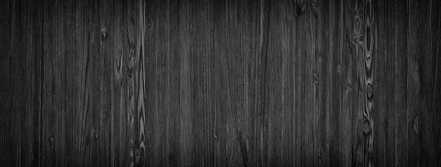Dunkler holzhintergrund, natürliche holzbretter des schwarzen texturmusters