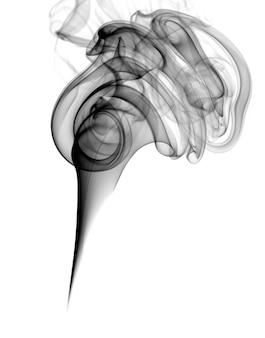 Dunkler rauch isoliert