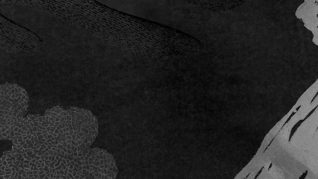 Dunkler ton neo memphis sozialer hintergrund illustration