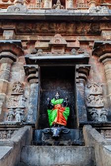 Durga bild, airavatesvara tempel, darasuram