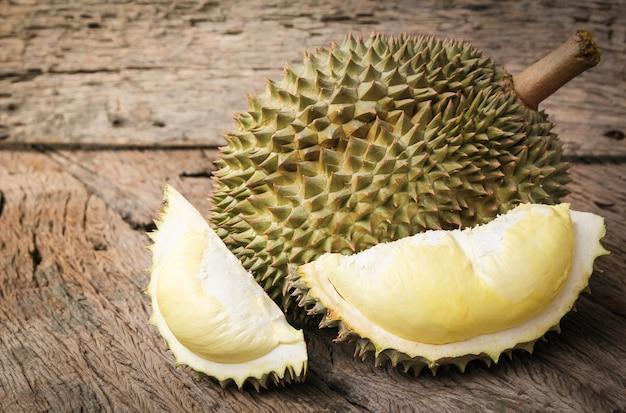 Durian gereift und frisch