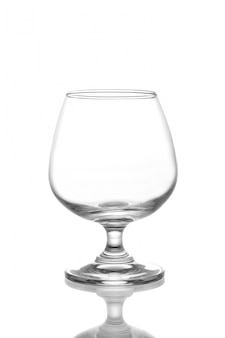 Durstig glas brandy weiß feiern