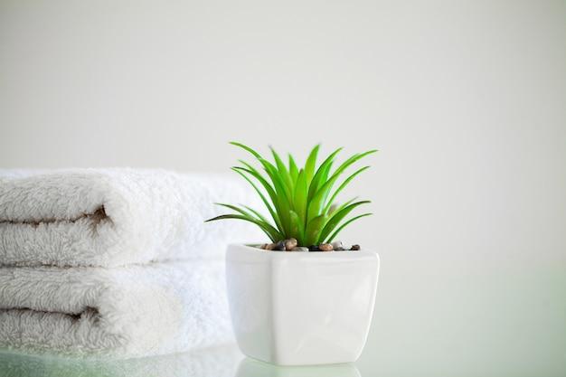 Duschzubehör. zusammensetzung kosmetische produkte der spa-behandlung.