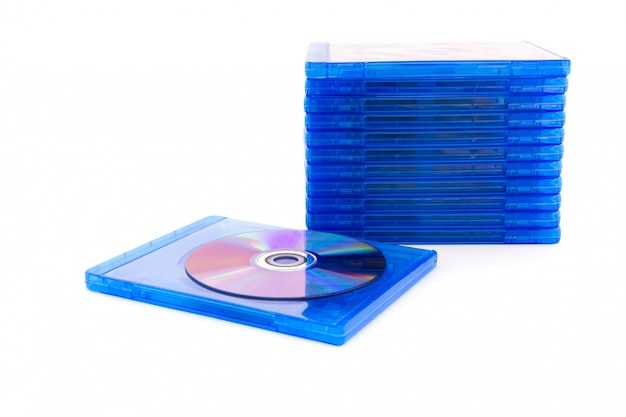 Dvd-box mit disc