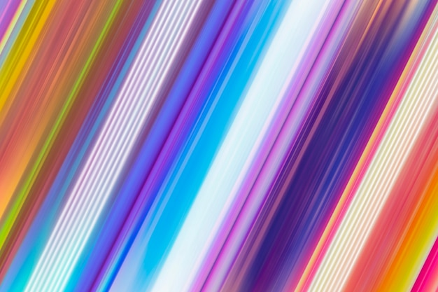 Dynamische lichtspuren bunter bewegungsunschärfeeffekt des abstrakten hintergrunds