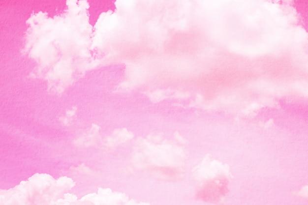 Dynamische wolke und himmel der fantasie und der weinlese mit schmutzbeschaffenheit für hintergrund