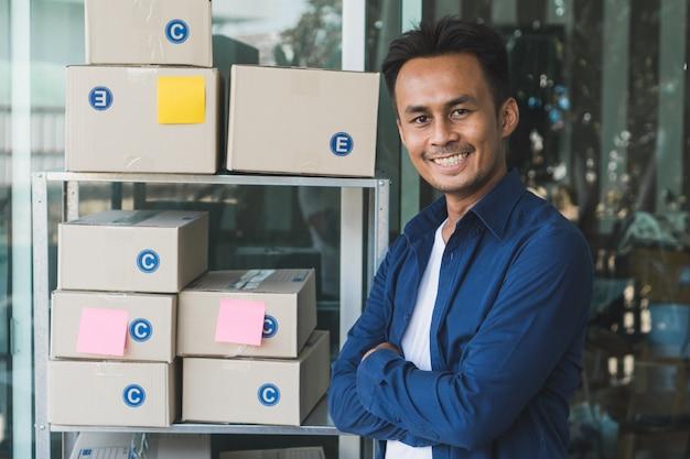 E-commerce-geschäftsinhaber