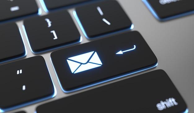 E-mail-hintergrund senden