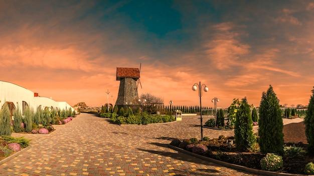 Ecoland-erholungsort in odessa, ukraine