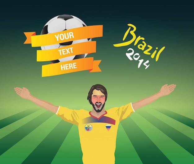 Ecuador fußballfan