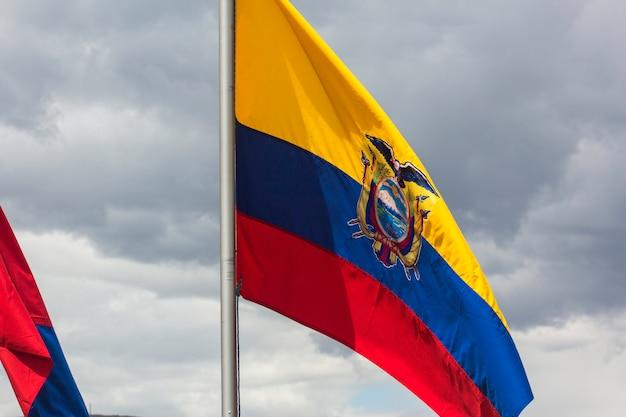 Ecuadorianische flagge