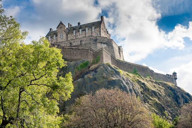 Edinburgh castle in schottland, vereinigtes königreich