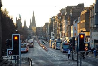 Edinburgh, der princes street