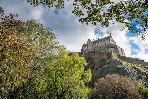 Edinburgh-schloss, schottland, vereinigtes königreich