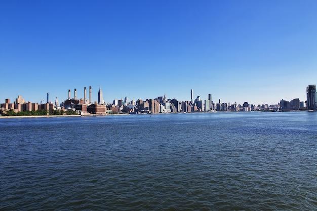 Eeast river in new york der vereinigten staaten