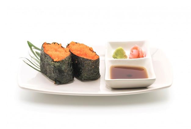Ei garnelen nigiri sushi - japanische lebensmittelart