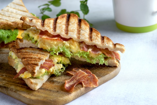 Ei-speck-sandwich