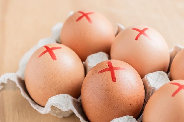 Eier erinnern sich an salmonellen