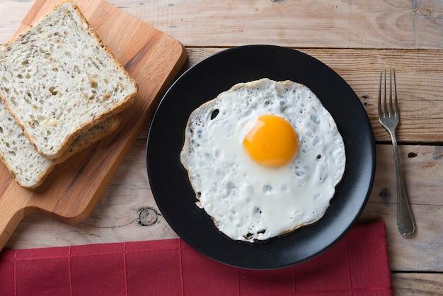 Eier gebraten