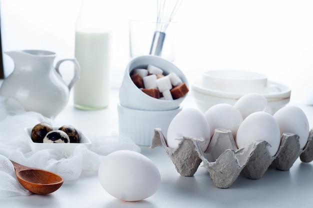Eier und kochen
