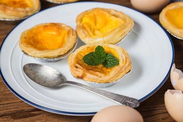Eierkuchen, traditioneller portugiesischer nachtisch