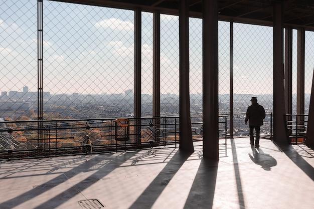 Eiffelturm aussichtsplattform