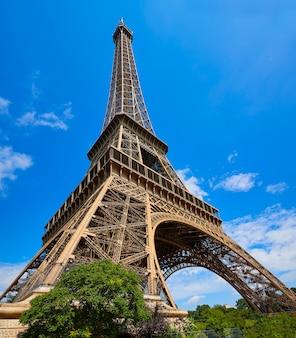 Eiffelturm in paris frankreich