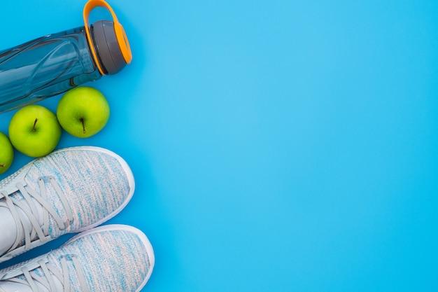 Eignung und gesundes aktives lebensstilhintergrundkonzept.