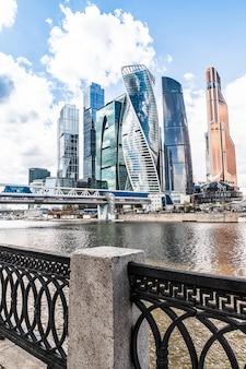 Ein blick auf das moscow international business center