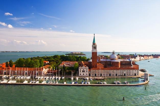 Ein blick auf venedig italien