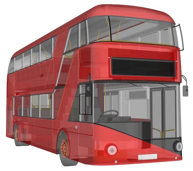 Ein doppel-decker-bus