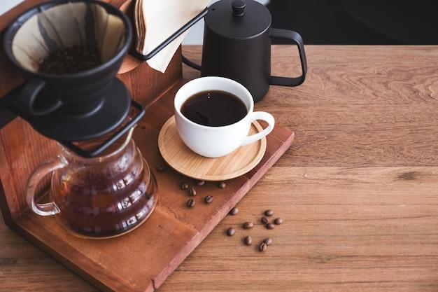 Ein filterkaffeeset
