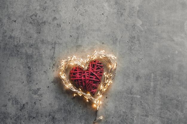 Ein funkelndes herz. valentinstag. valentinstag datierung
